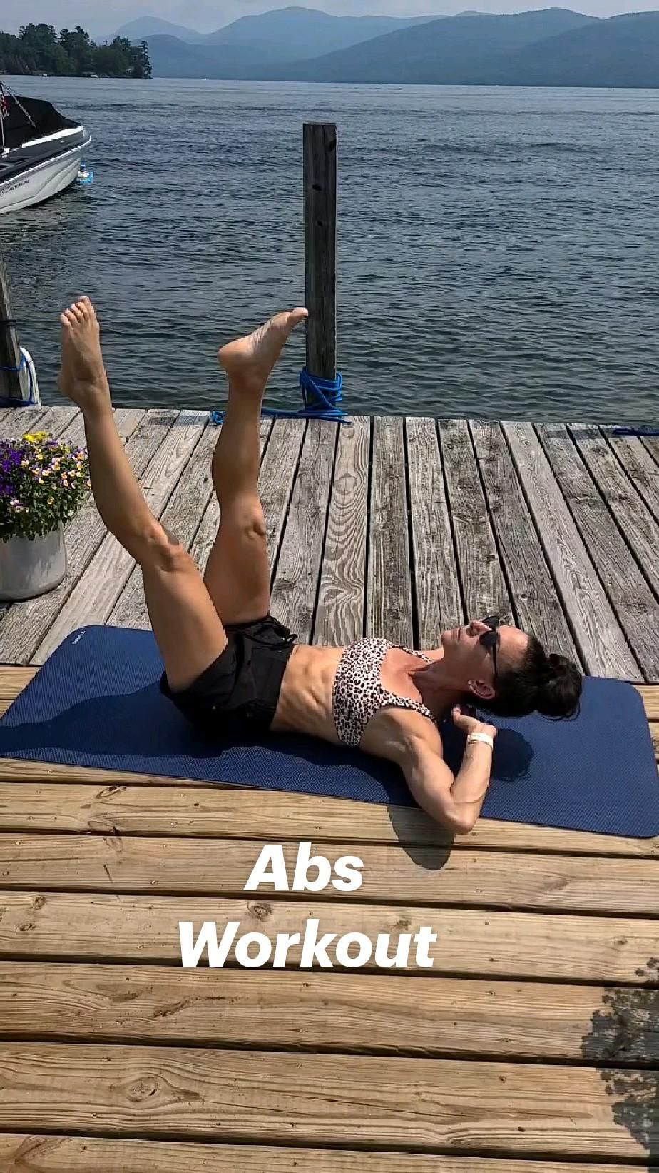 Tone flat six pack abs with this no equipment core workout