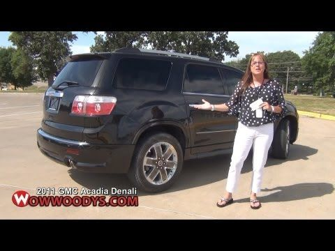 Vehicle Profile Learn All About The Used 2011 Gmc Acadia