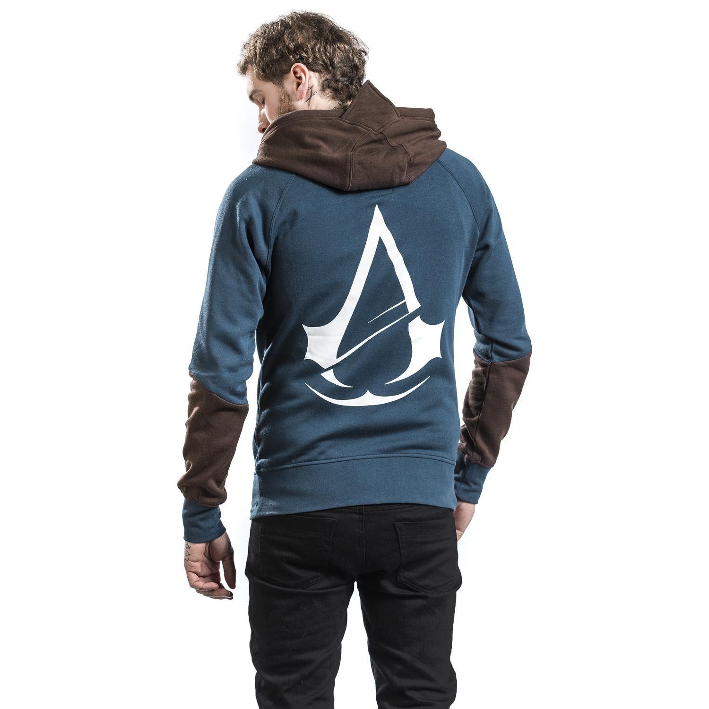 Hættetrøje med lynlås Assassin's Creed  »Unity«   Køb nu hos EMP   Masser af Hættejakker Fanmerchandise  fås online ✓ Stærke priser!