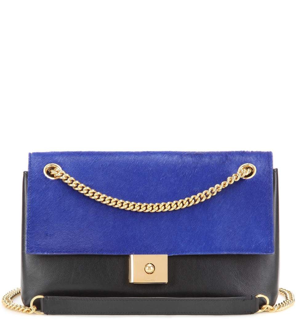 MULBERRY Cheyne Calf Hair And Leather Shoulder Bag.  mulberry  bags  shoulder  bags 6c904228df