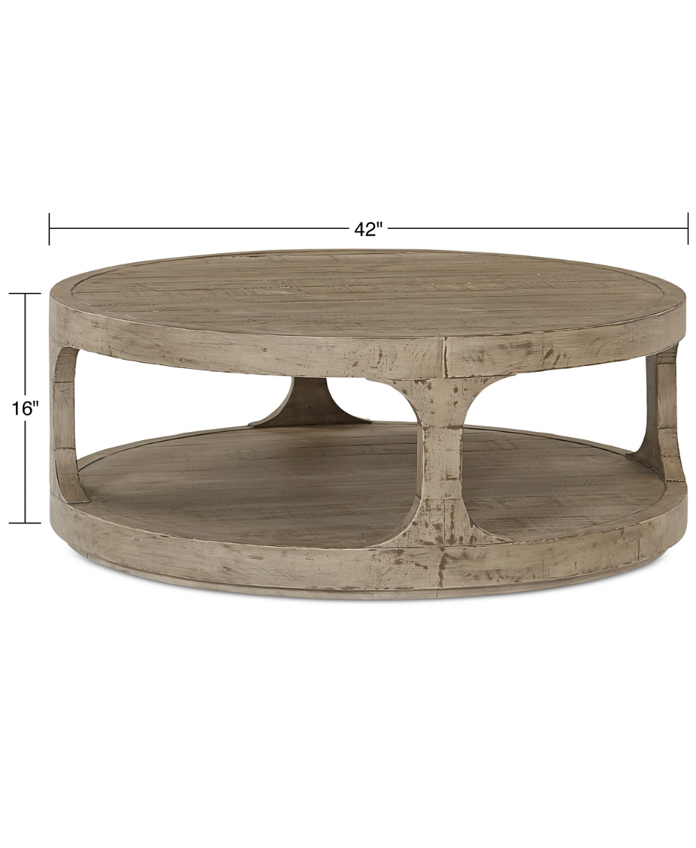 Furniture Derevo Coffee Table Reviews Furniture Macy S In 2021 Coffee Table Round Wood Coffee Table Wood Coffee Table Living Room [ 1219 x 1000 Pixel ]