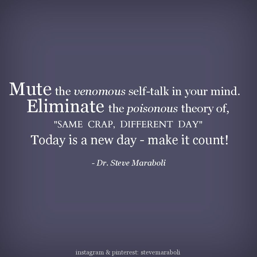 Mute The Venomous Self Talk In Your Mind Eliminate The Poisonous