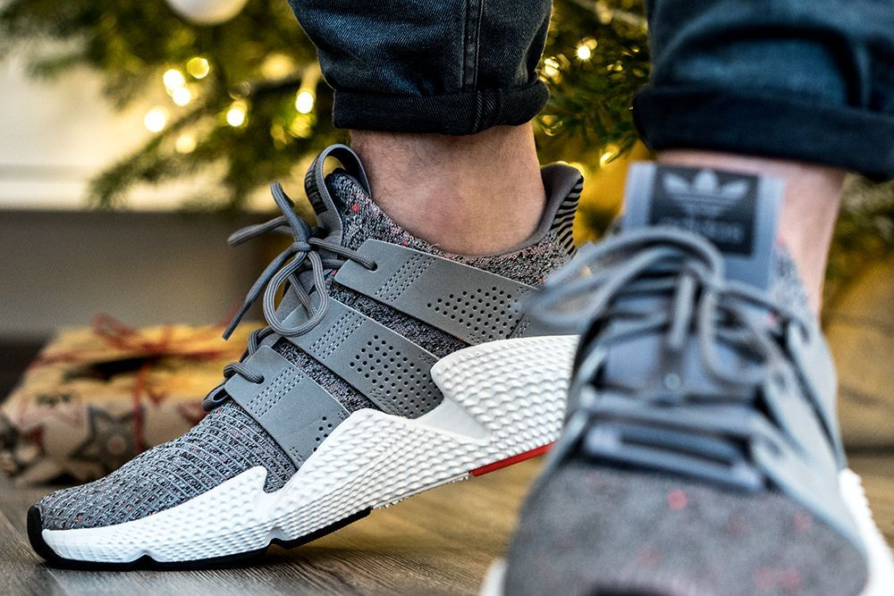 fdee929242c Latest Pickup  adidas Prophere  Grey  – Komplettes Review