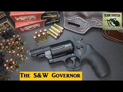S&W Governor 410/ 45 Colt/ 45 ACP Revolver Review - YouTube