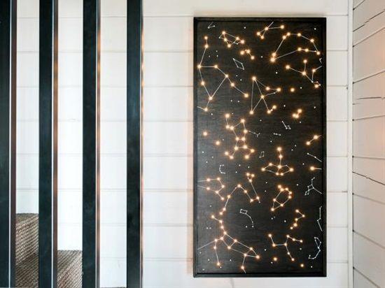 Illuminated Constellations Constellation Wall Art Wall Art Lighting Light Wall Art