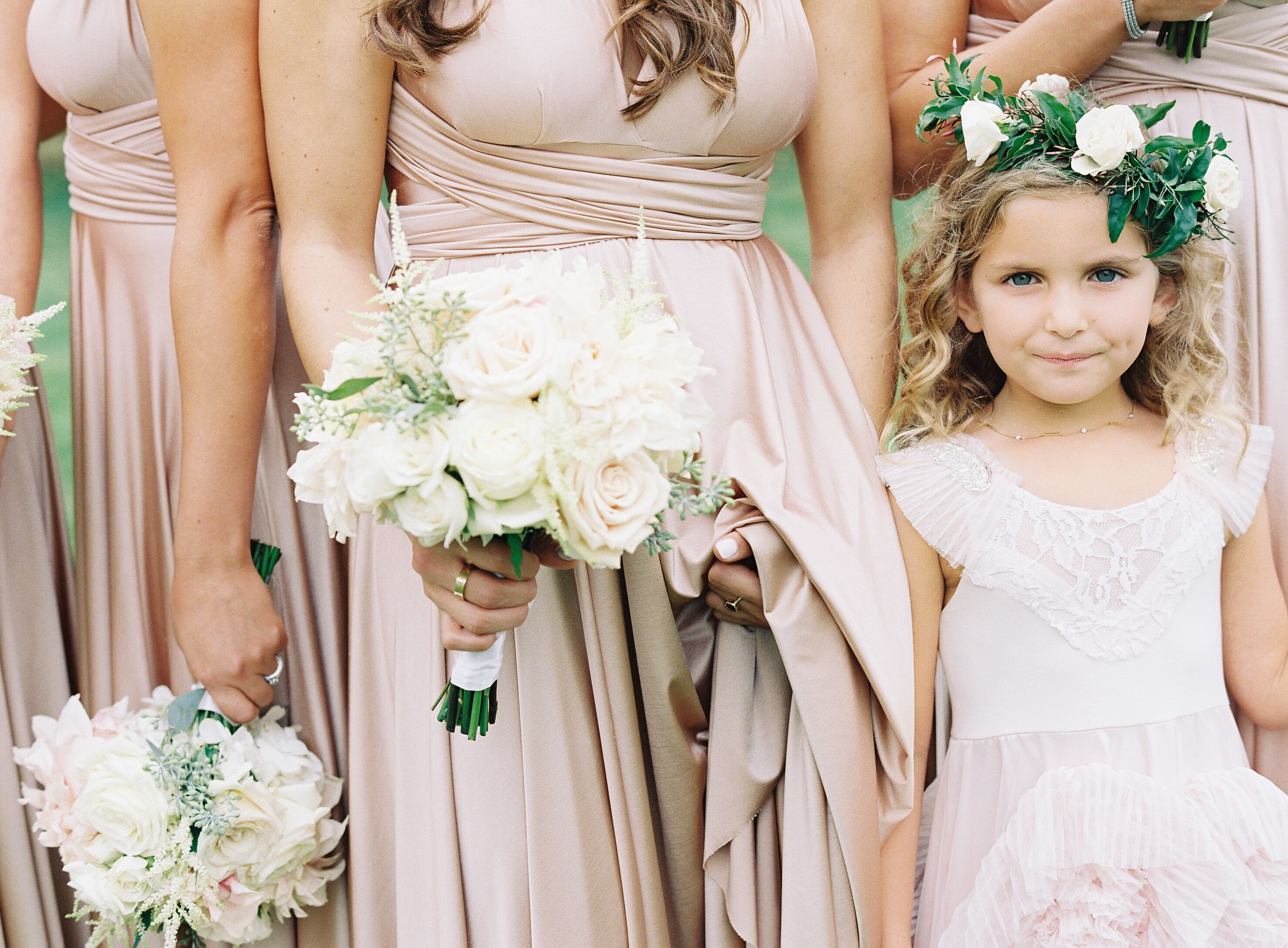 Rosewood rose gold twobirds bridesmaid dresses a real wedding rosewood rose gold twobirds bridesmaid dresses a real wedding featuring our multi way ombrellifo Images