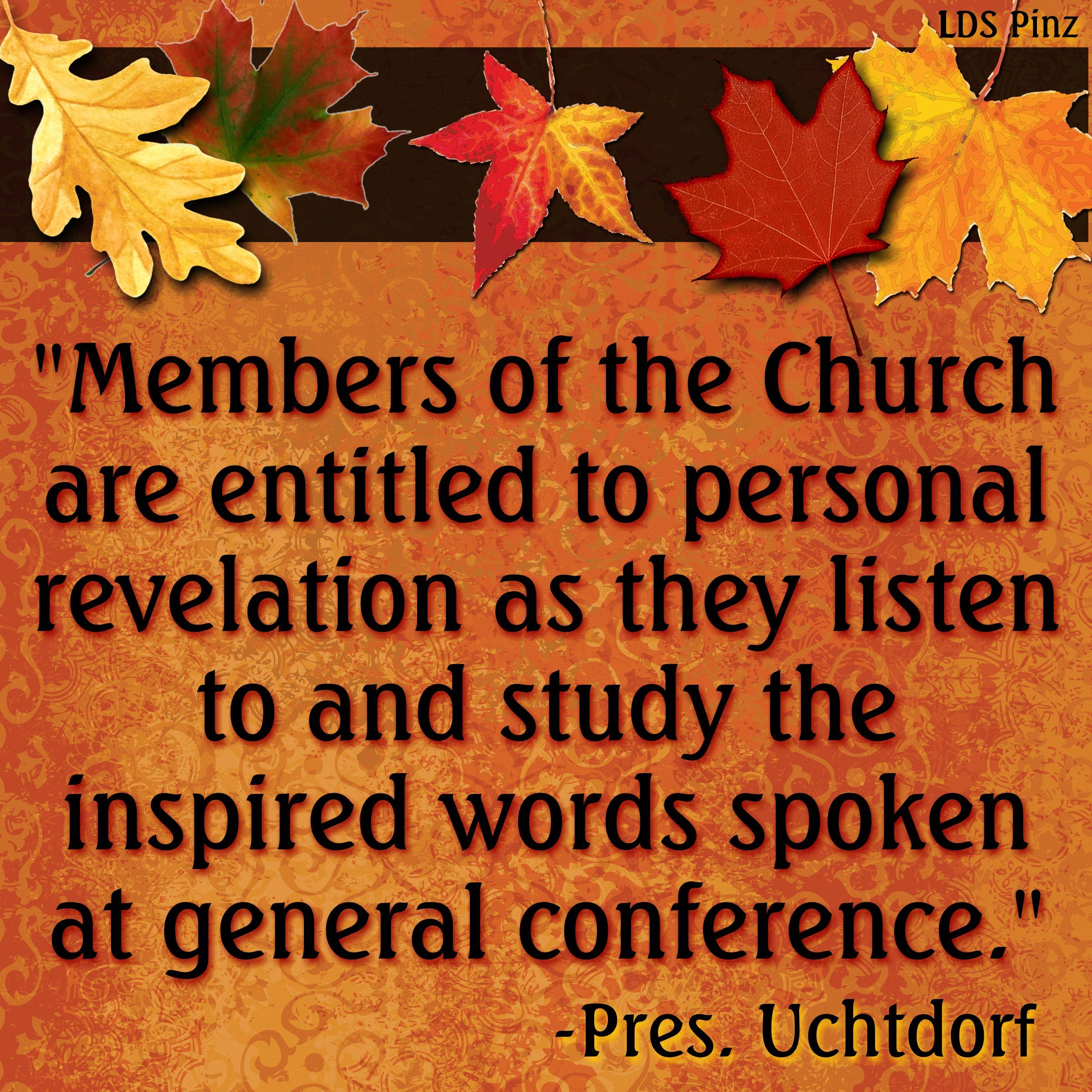 "Direct General Quote Step 1 ""as You Prepare For General Conference I Invite You To"