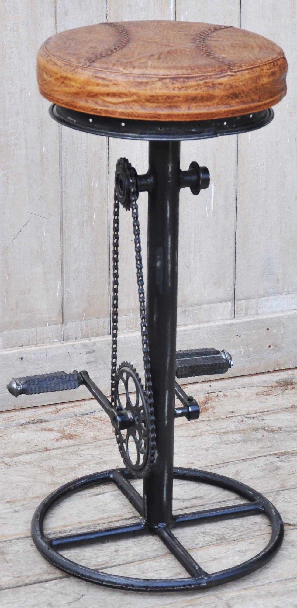 Industrial Fixed Bicycle Bar Stool Wayfair Australia