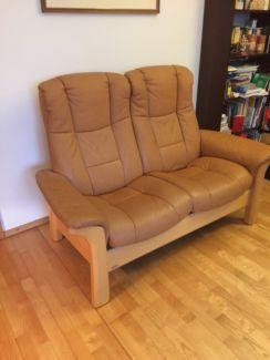 Couch 2 Sitzer Marke Stressless Echtleder In Bayern Eggenfelden