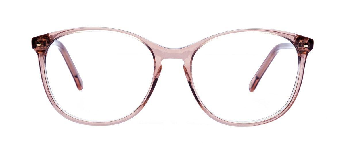 Lunettes tendance Rectangle Carrée Ronde Lunettes de vue Femmes Nadine Rose  Face 963e28e4a51f