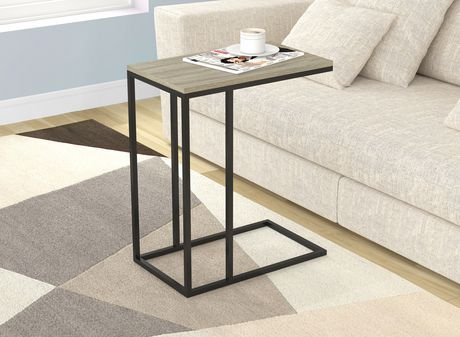 Safdie Co Accent Table Dark Taupe Dark Taupe 20in X 12in Furniture Accent Table Living Room Table