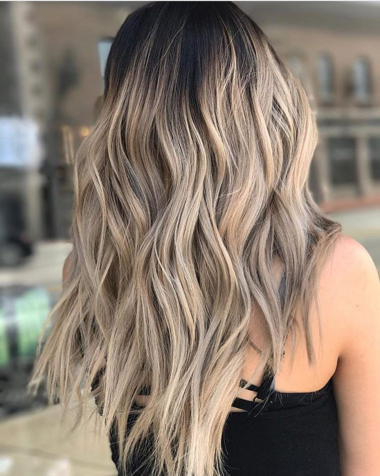 10 Layered Hairstyles & Cuts for Long Hair in Summer Hair Colors