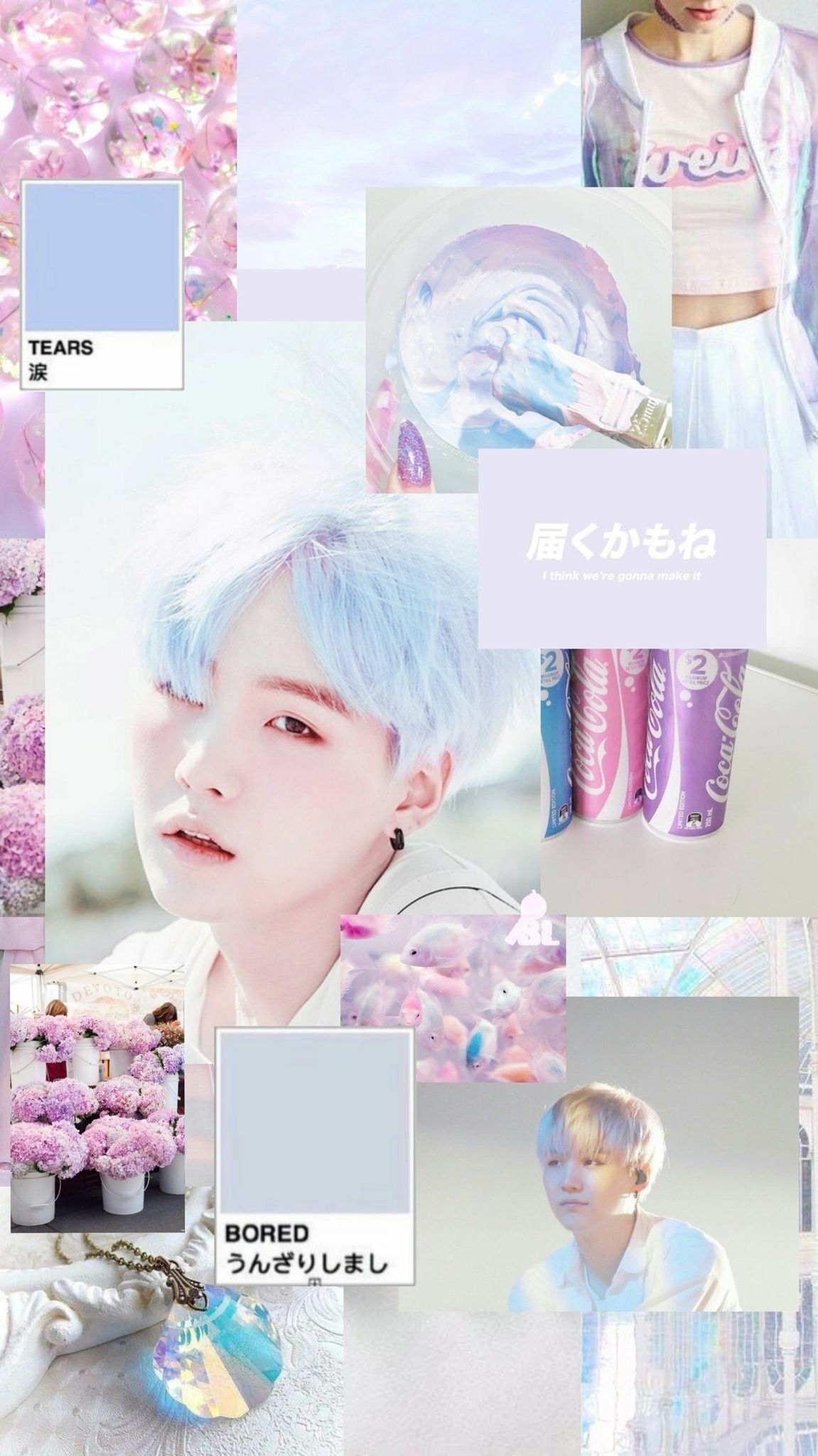 Suga Soft Aesthetic Wallpaper Credits To Twitter Btsbangtanlocks C Suga Yoongi Wallpaper Lucu Gambar Dinding Wallpaper Ponsel