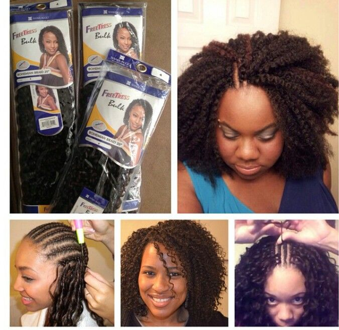 Crochet Braids Weave Great Protective Style Natural Hair Styles Hair Styles Crochet Hair Styles