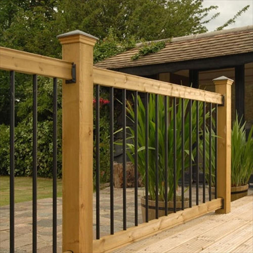 Best Wood Railing Kits Traditional Series Pine Straight 400 x 300
