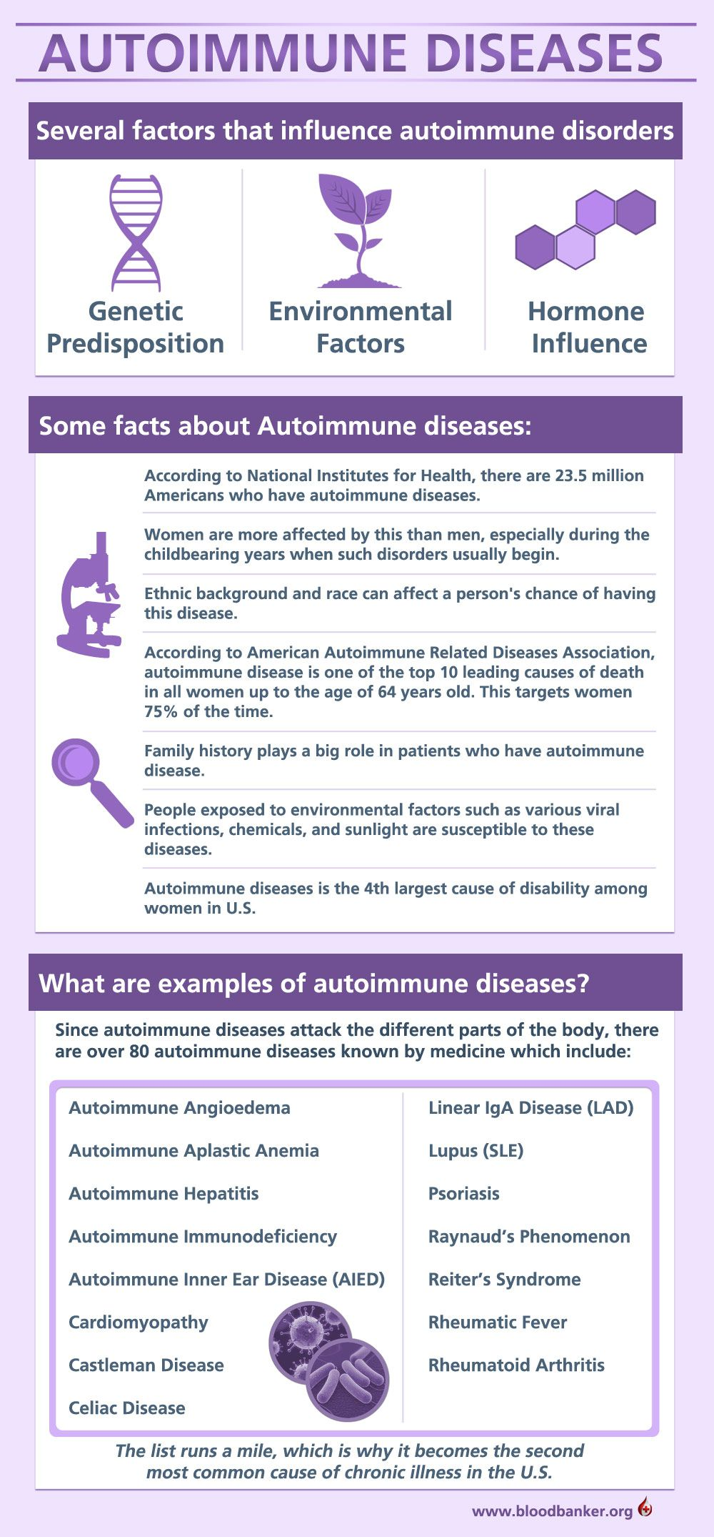 Image result for INFOGRAPHICS AUTOIMMUNE DISEASES