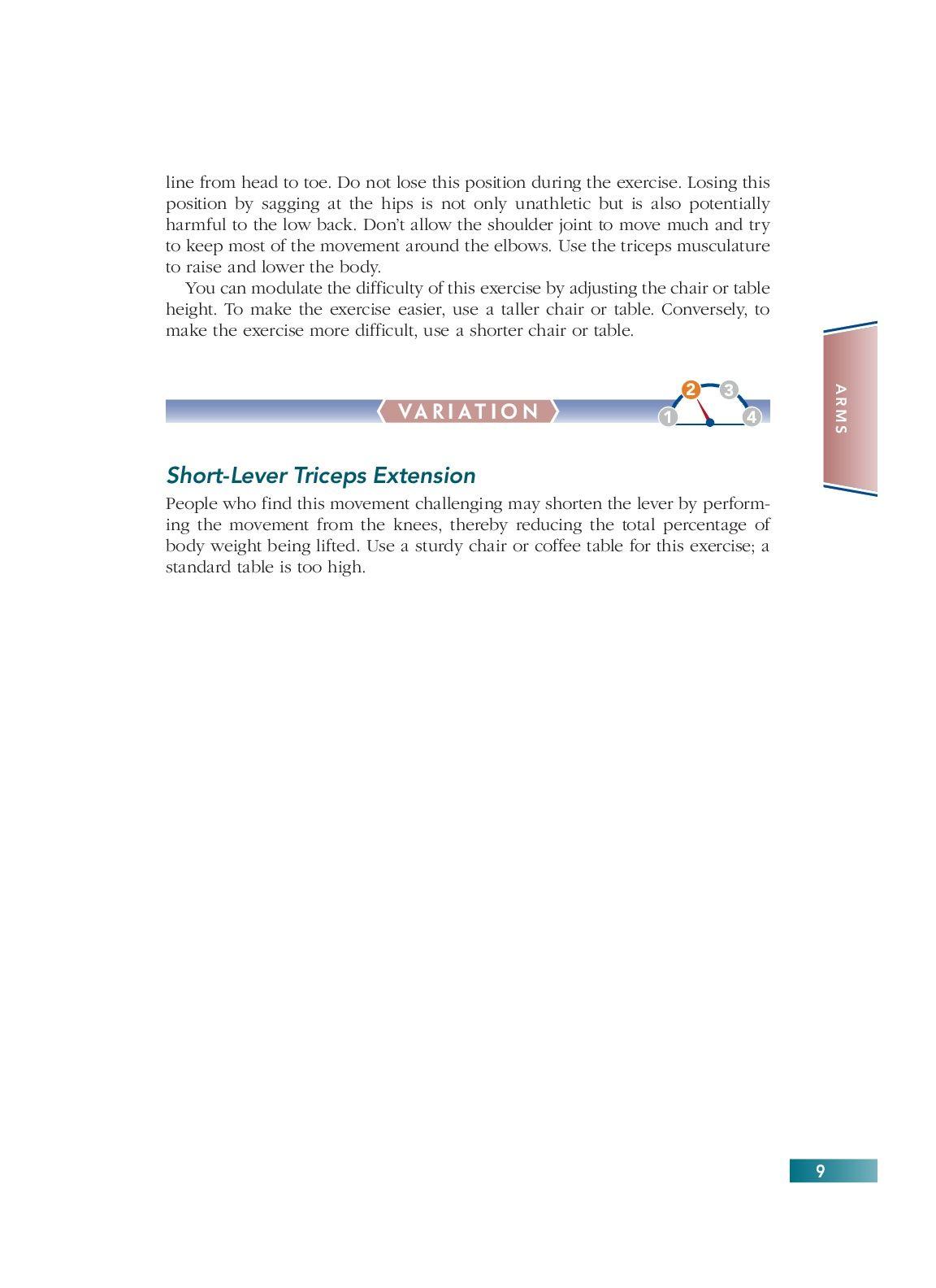 Chapter 2 Arms 9 Bodyweight Strength Training Anatomy Pinterest