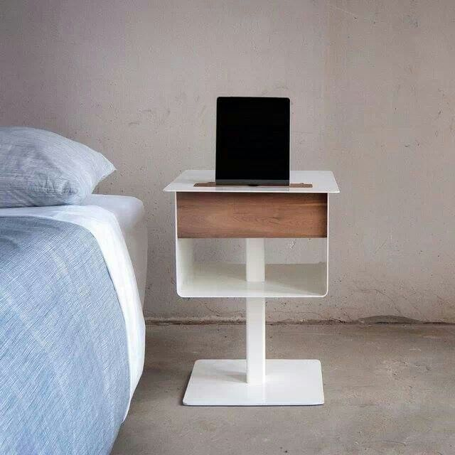 Nomad Nightstand Table By Spell, Via Www.spellonline.com #nomad #nightstand