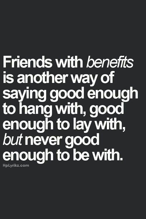 What does friends with benefits do