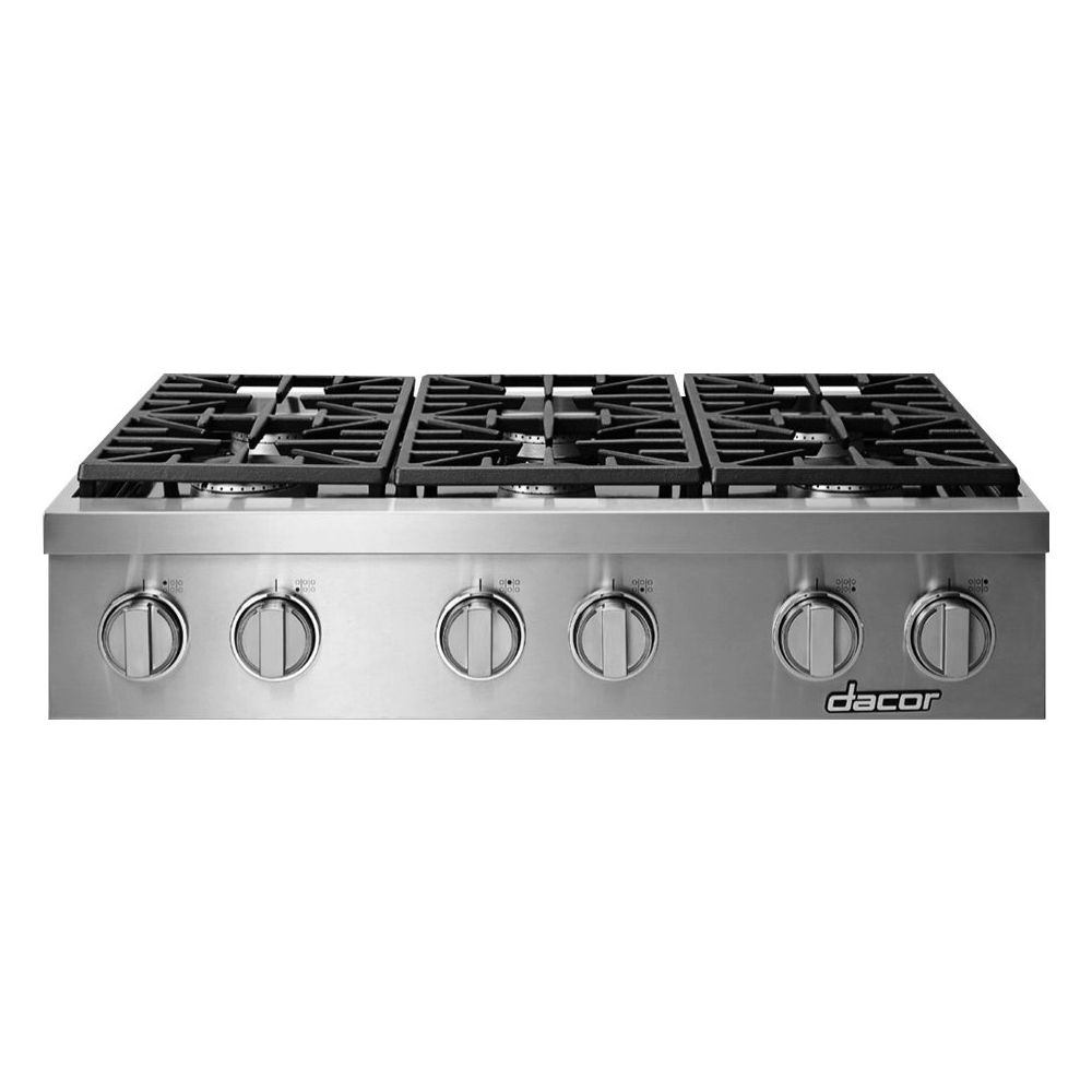 Dacor Heritage 35 9 Gas Cooktop Stainless Steel Products In 2019 Stainless Steel Appliances Kitchen Appliances Gas Range Top