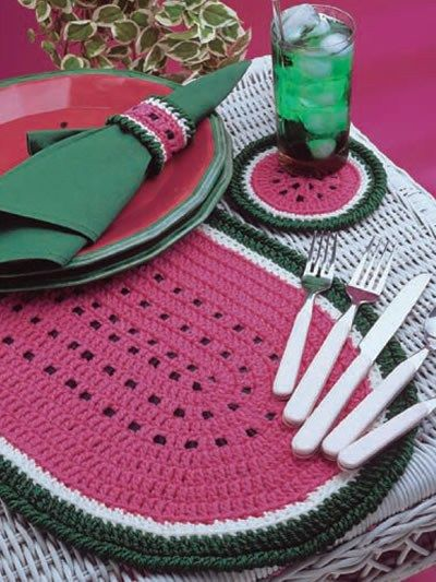Free Placemat Crochet Patterns Crochet Patterns For The Home