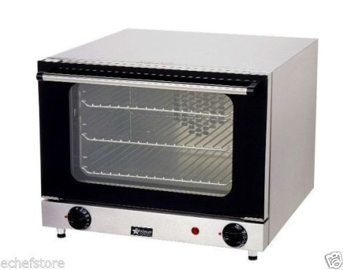 Star Holman Countertop Electric Convection Oven Quarter Size Ccoq