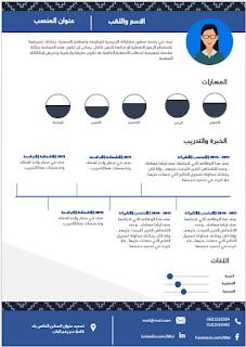 تحميل سيرة ذاتية للعمل والوظيفة مجانا انفوجرافيك Arabic Words Words Infographic