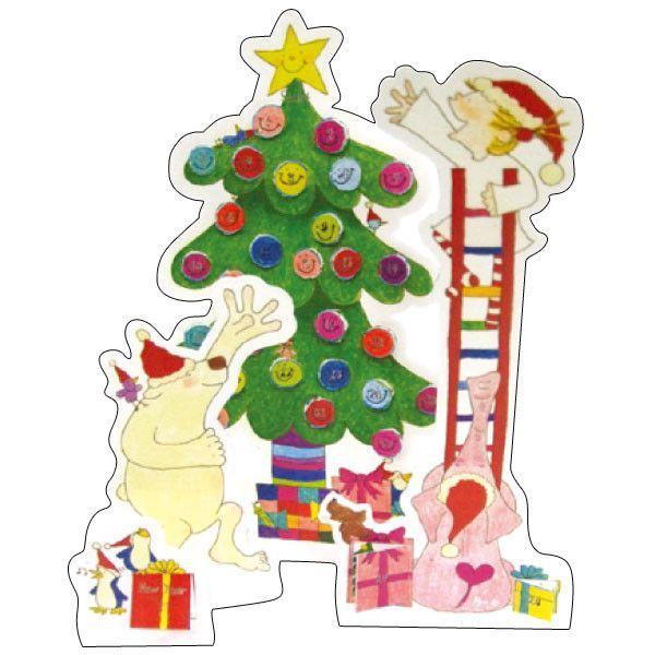Greeting Life COCO Advent Christmas Card RY-69