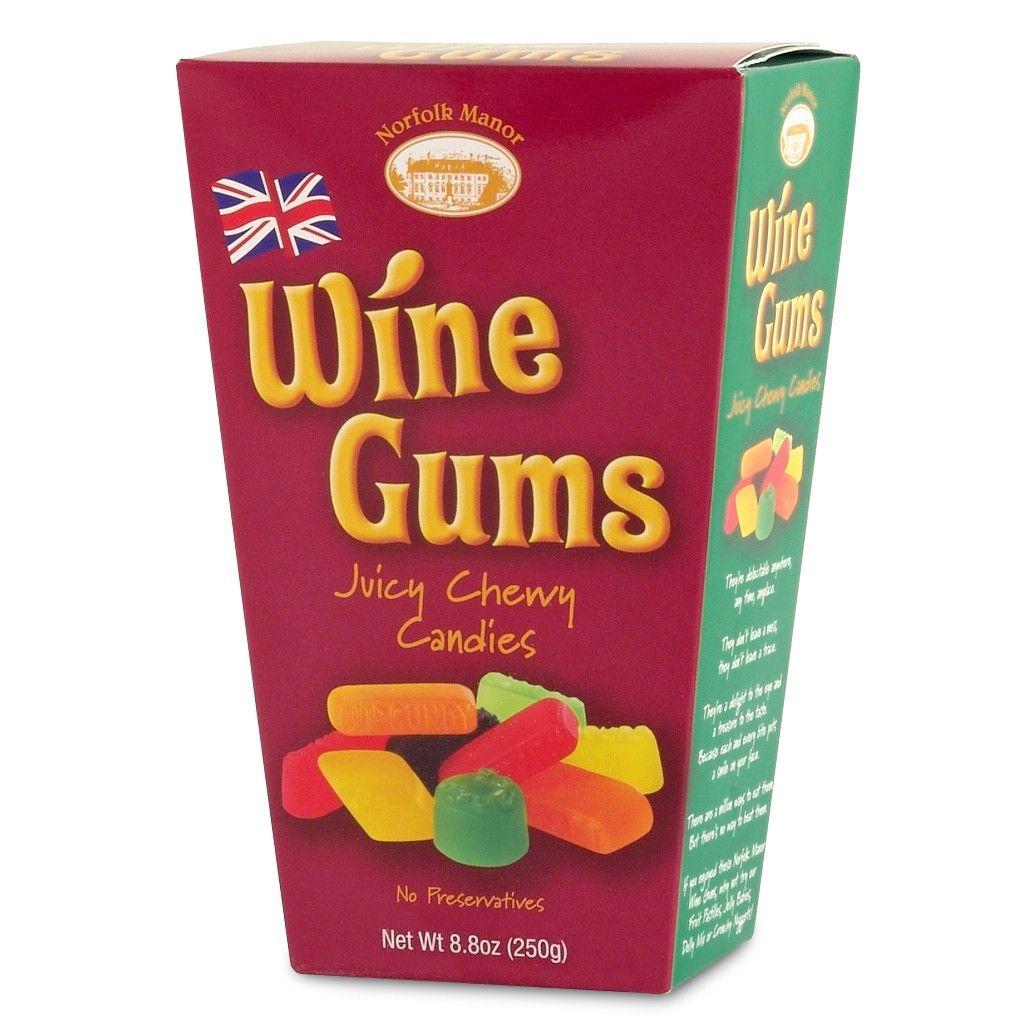 Norfolk Manor Wine Gums 8 Oz 226g Wine Gums Gum Gummy Candy