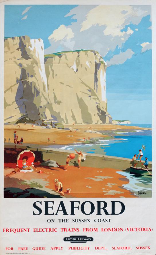 Vintage Southern Railways Bude Railway Poster  A3 Print