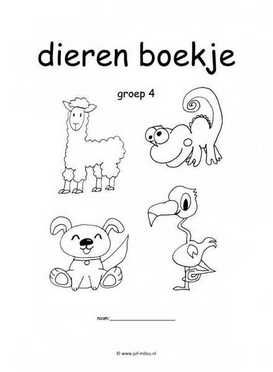 Super Werkboekje dieren | werkboekjes &AX65