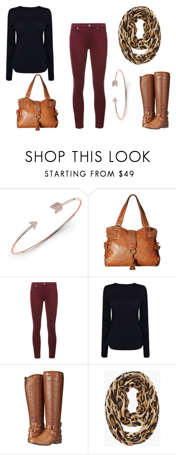 """Colored Jeans for Fall"" by realitybytes85 ❤ liked on Polyvore featuring Anne Sisteron, Steve Madden, 7 For All Mankind, Helmut Lang, Madden Girl and Chico's"