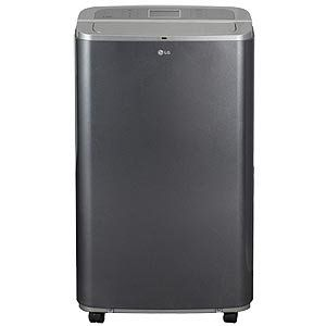 Lg 13 000 Btu Portable Air Conditioner With Built In Dehumidifier Lp1311bxr Http Air Con Portable Air Conditioner Air Conditioner Accessories Energy Saver