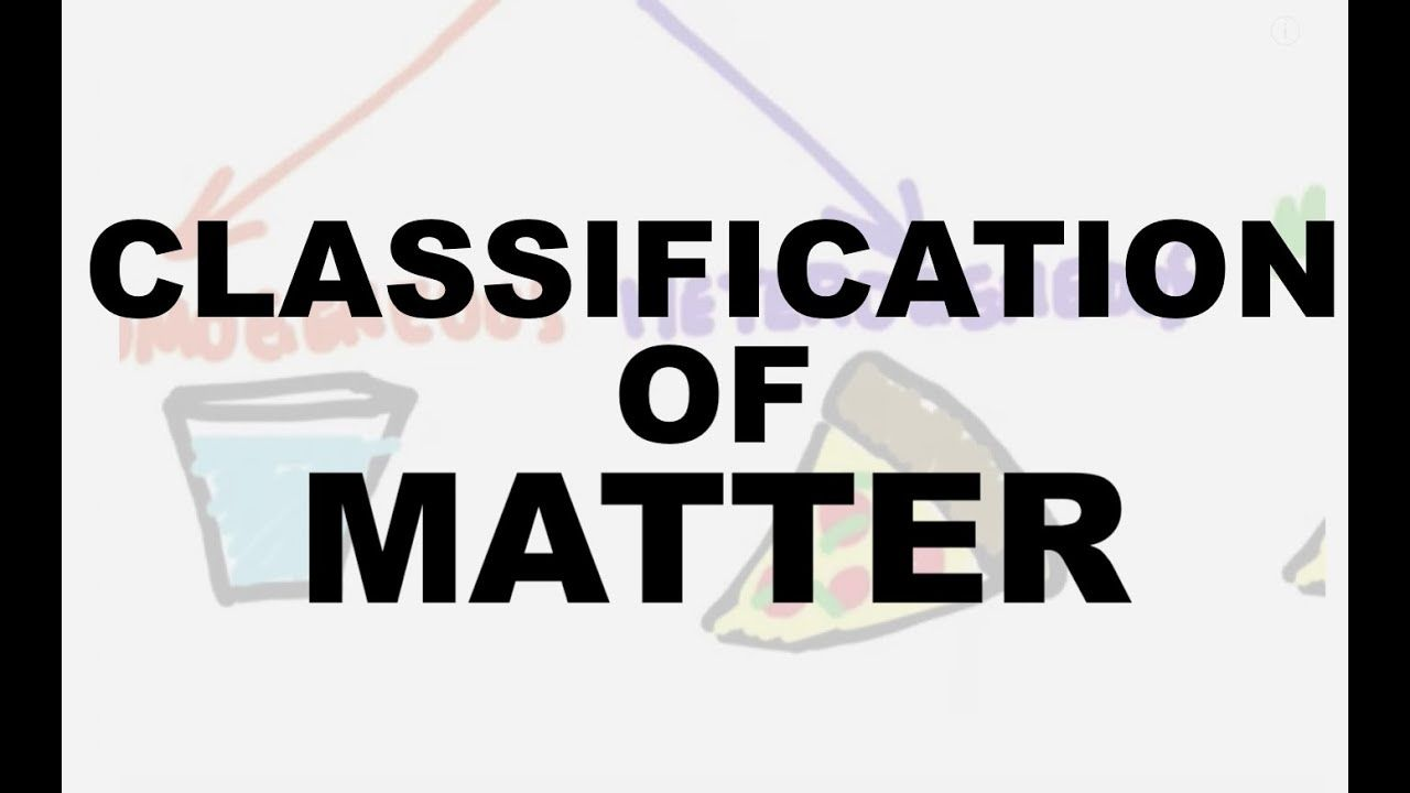 Classification Of Matter Worksheet Answer Key Physical Science Classification Of Matter Workshe Matter Worksheets Physical Science Graphing Linear Inequalities