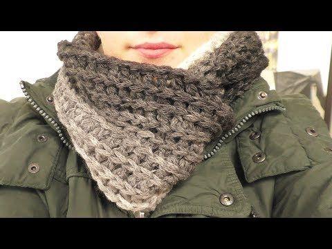 YouTube | πλεκτα | Pinterest | Schal häkeln, Farbverlauf und Schals