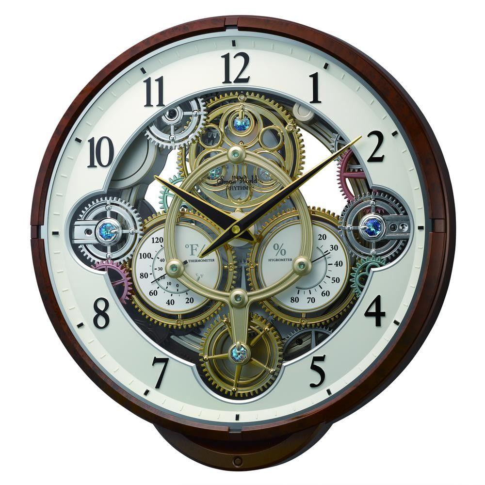 Widget Magic Motion Clock By Rhythm In 2020 Rhythm Clocks Wall Clock Clock