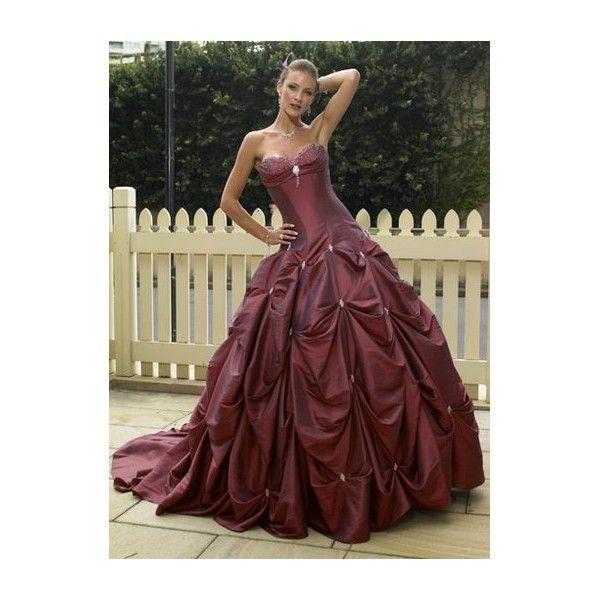 Wine Color Wedding Dress Dresses Source