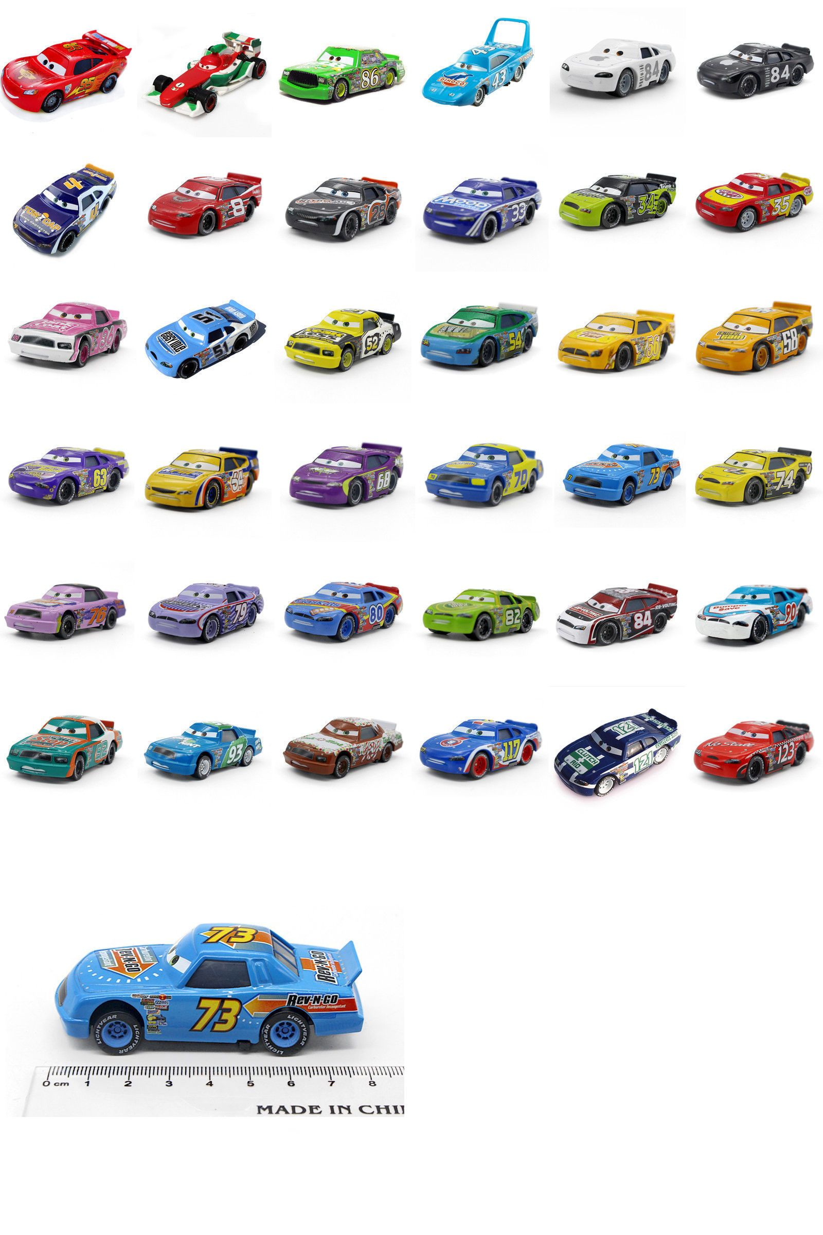 Cars 2 Toys Speed Racer Lightning Mcqueen The King Metal Car Toys 1 55 Loose New Lightning Mcqueen Hot Wheels Display Toy Car