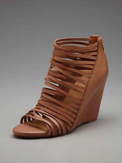 Vince Camuto Shoes Zeplin Caged Wedge Sandal Shoe Closet
