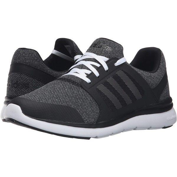 new product 3c52a d301c adidas Cloudfoam Xpression (BlackWhiteOnix) Womens Running Shoes (55)