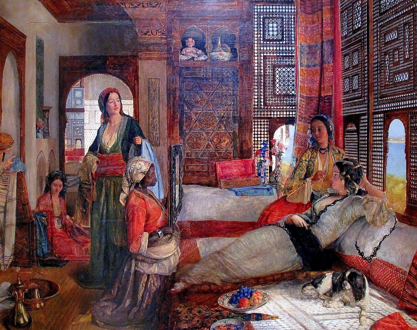 Image result for egyptian harem