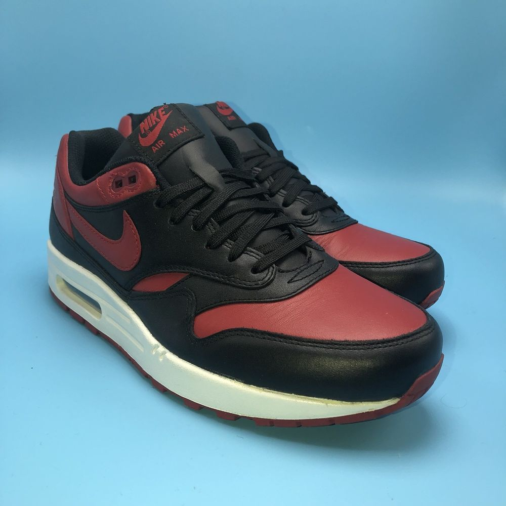 aaf24f1cf05 RARE NIKE AIR MAX 1 PREMIUM QS BRED SIZE 9 BANNED BLACK RED WHITE 665873 061  #fashion #clothing #shoes #accessories #mensshoes #athleticshoes (ebay link)