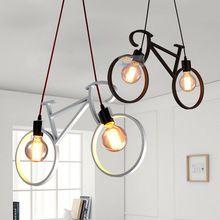 Retro lampade a sospensione nero/bianco camera da letto del ...