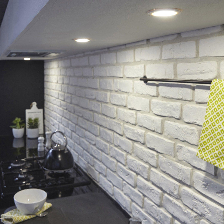 Kit 3 Spots Led Integree Rio Inspire 3 X 2 W Blanc Lumiere Blanche Eclairage Cuisine Lumieres De Cuisine Led Cuisine
