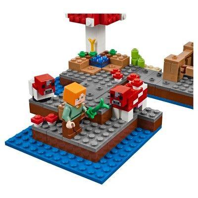 LEGO® Minecraft The Mushroom Island 21129   Lego minecraft, Lego and ...