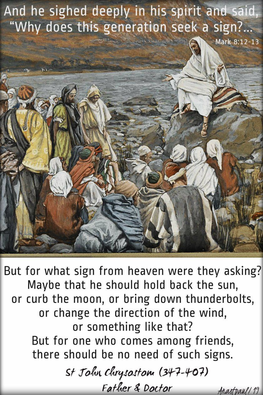 Image result for asking Jesus for a sign