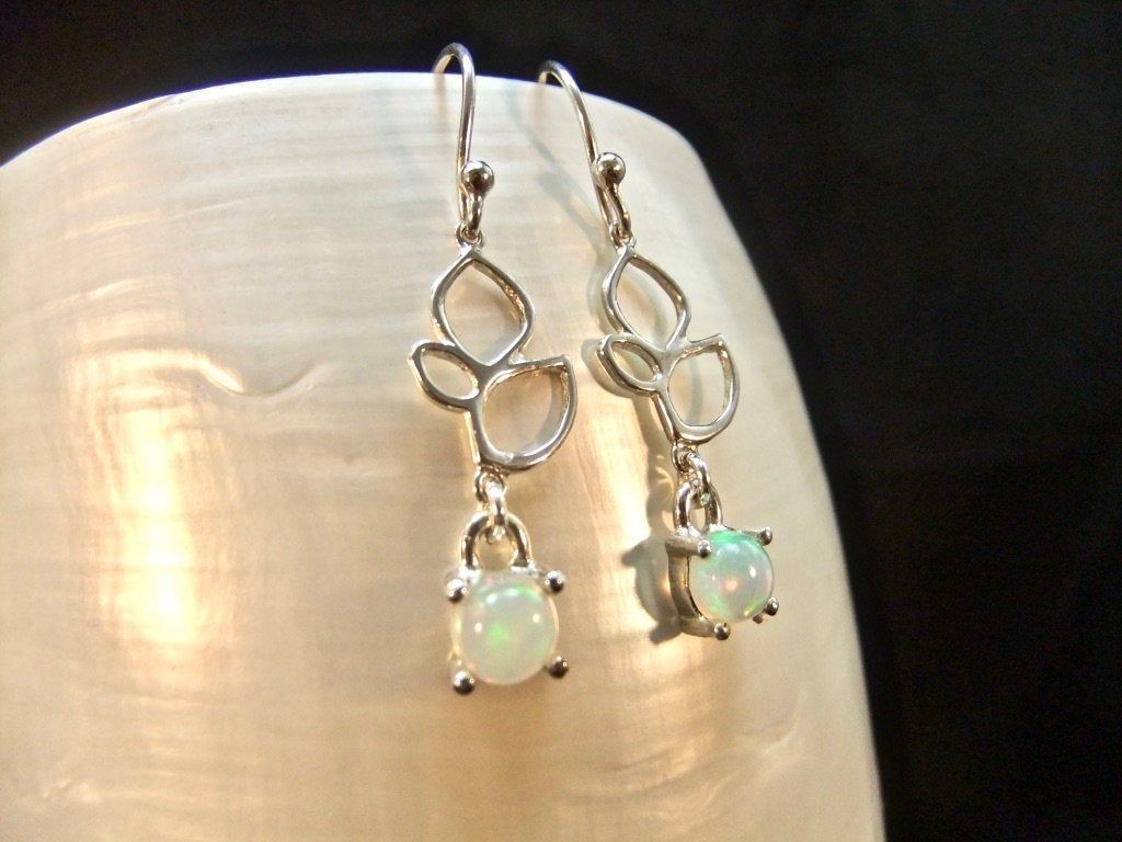 Opal Drops Earrrings Pear Drops Jewelry Stunning Opal Earrings Opal Jewelry Natural Ethiopian Opal Drops
