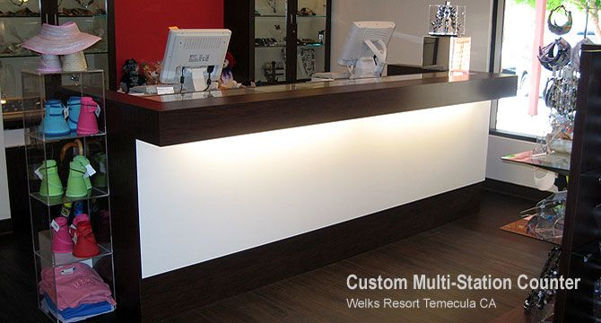 Custom Retail Counters