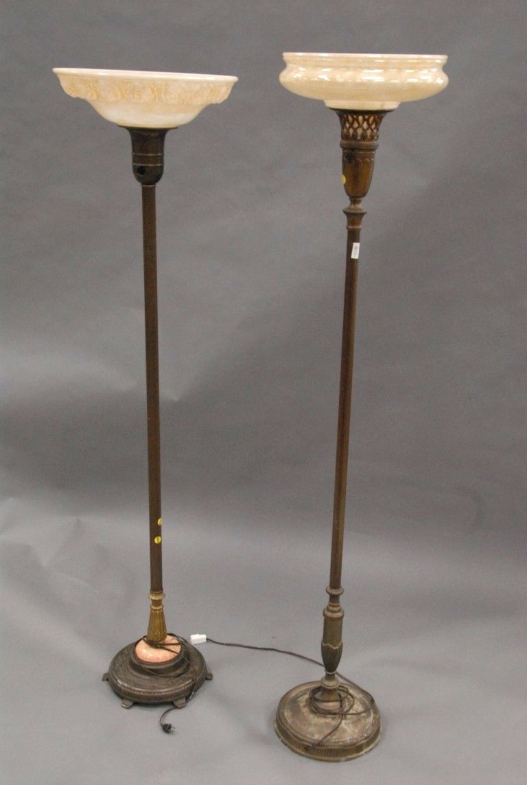 Features Of Vintage Floor Lamps Ornate Brass Table Lamp Australia