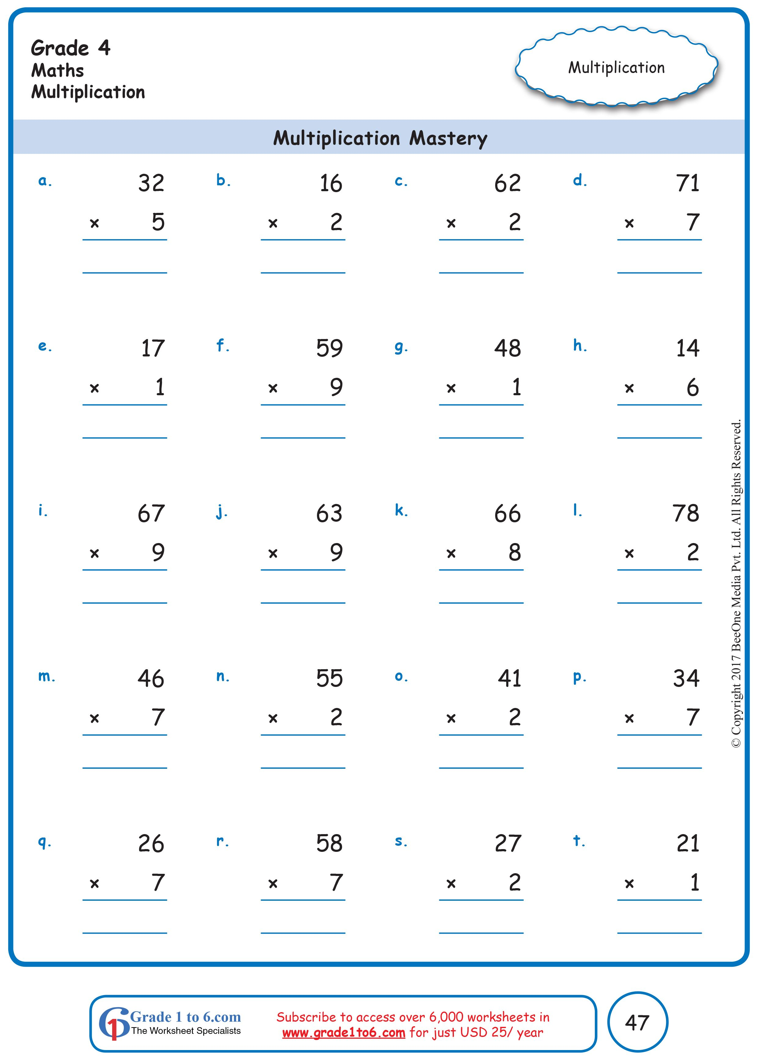 These are the BEST Math worksheets for Grade 1 through